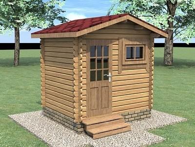 Дачный домик 2,5х2