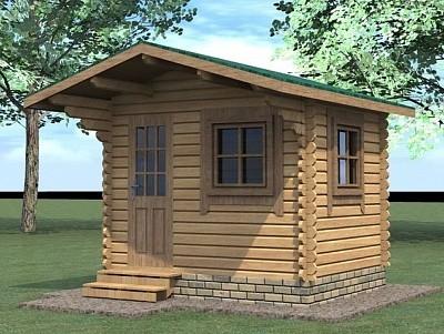 Дачный домик 3х2,5