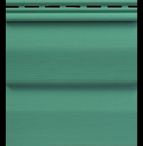Сайдинг Tecos Ardennes Корабельный Брус - Изумруд 202