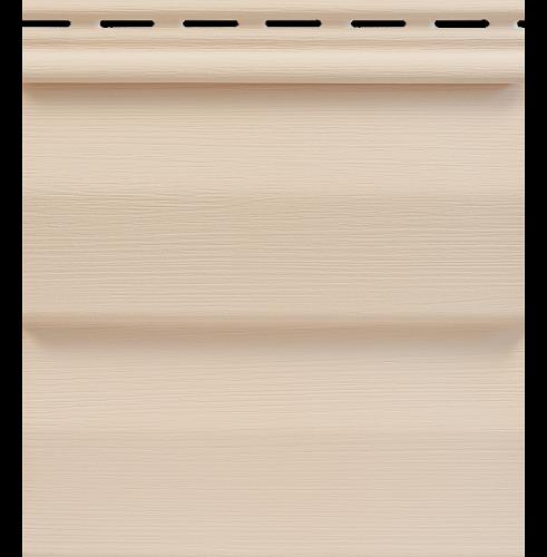 Сайдинг Tecos Ardennes Корабельный Брус - Светло-розовый 111