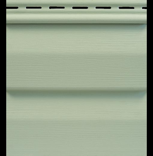 Сайдинг Tecos Ardennes Корабельный Брус - Светло-салатовый 112