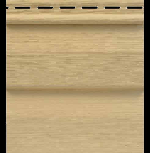 Сайдинг Tecos Ardennes Корабельный Брус - Ваниль 103