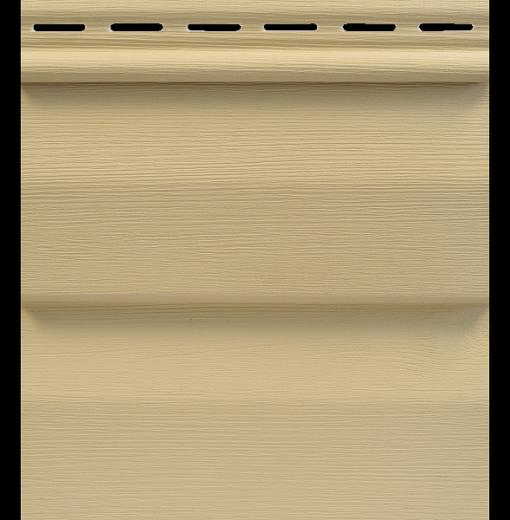 Сайдинг Tecos Ardennes Корабельный Брус - Золотой песок 107
