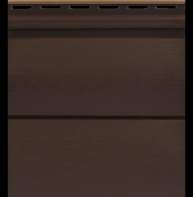 Сайдинг Tecos Двойной оцилиндрованный брус - Арабика 301