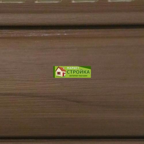 Сайдинг Tecos Natural wood effect оцилиндрованный брус - Канадский дуб