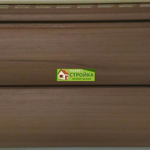 Сайдинг Tecos Natural wood effect двойной оцилиндрованный брус - Канадский дуб