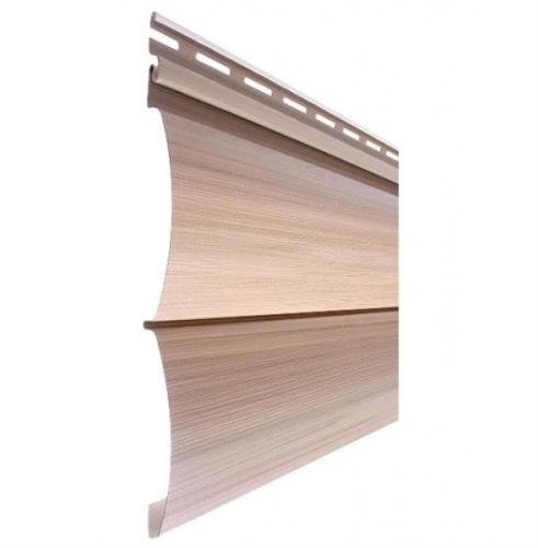Сайдинг Tecos Natural wood effect двойной брус - Канадский дуб