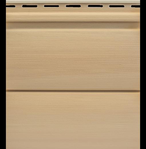 Сайдинг Tecos Natural wood effect двойной брус - Ливанский кедр