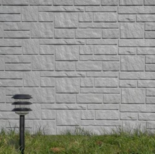 Сайдинг панели Tecos Натуральный камень - Серый