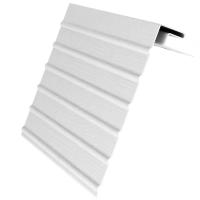Белая фурнитура для сайдинга
