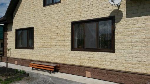 Фасадные панели Docke-R Fels Слоновая кость
