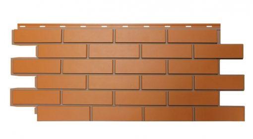 Фасадные панели NordSide Гладкий кирпич - Красный