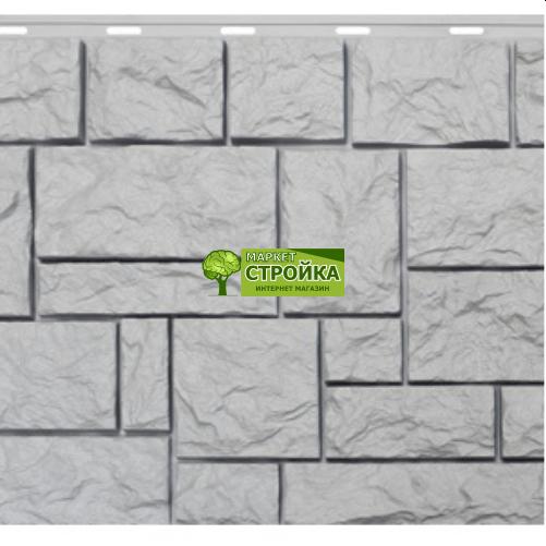 Фасадные панели NordSide Северный камень — Белый