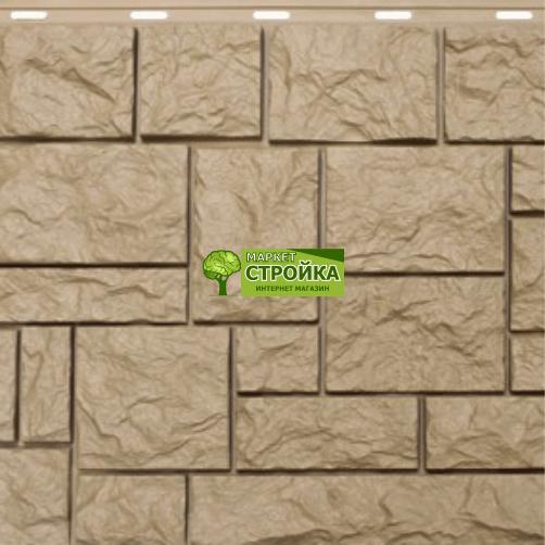 Фасадные панели NordSide Северный камень — Бежевый