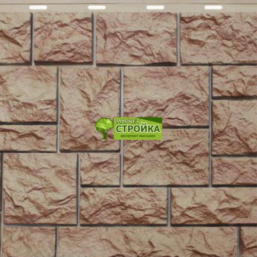 Фасадные панели NordSide Северный камень — Терракотовый