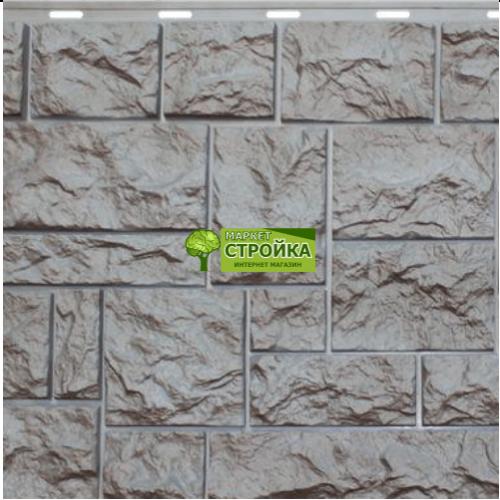 Фасадные панели NordSide Северный камень —Серый