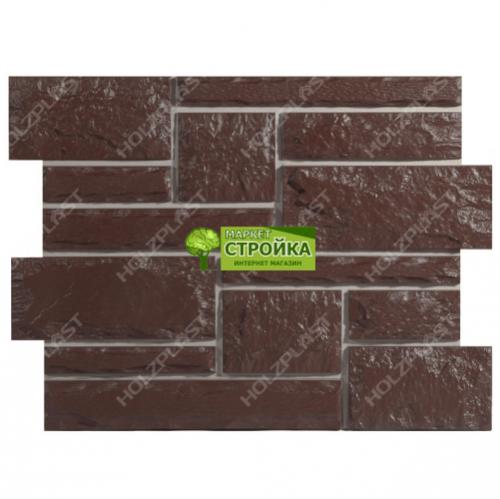 Фасадные панели Wandstein Бут - Темно-коричневый