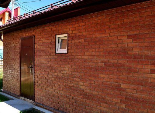 Фасадные панели Wandstein Кирпич - Терракотовый