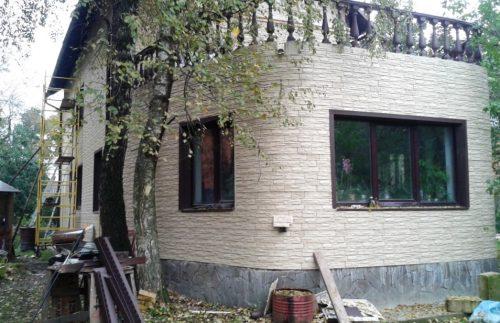 Фасадные панели Wandstein Скол - Белый