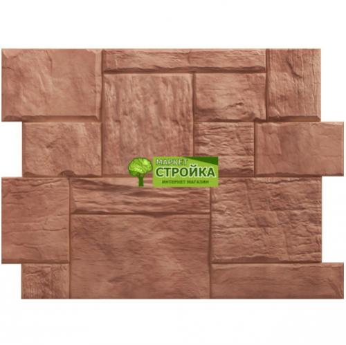 Фасадные панели Wandstein Туф - Светло-коричневый