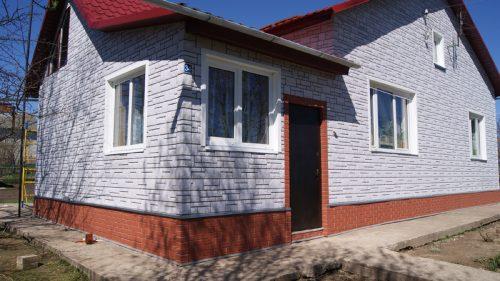 Облицовка фасада - BURG Платиновый