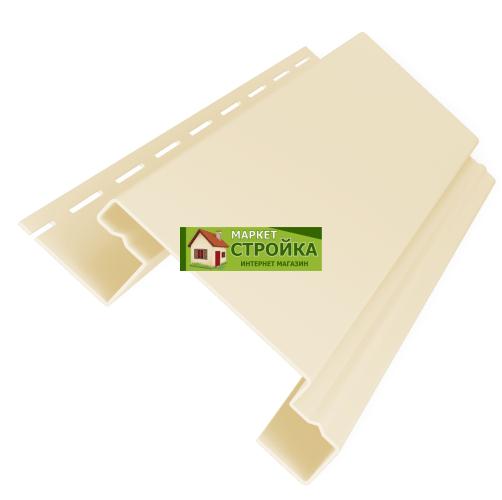 Планка наборная (наличник), H-Профиль Grand Line - цвет Ванильный