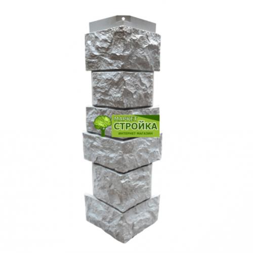 Угол NordSide Северный камень серый