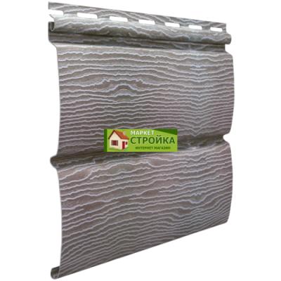 Сайдинг Ю-пласт Timberblock - Дуб серебристый