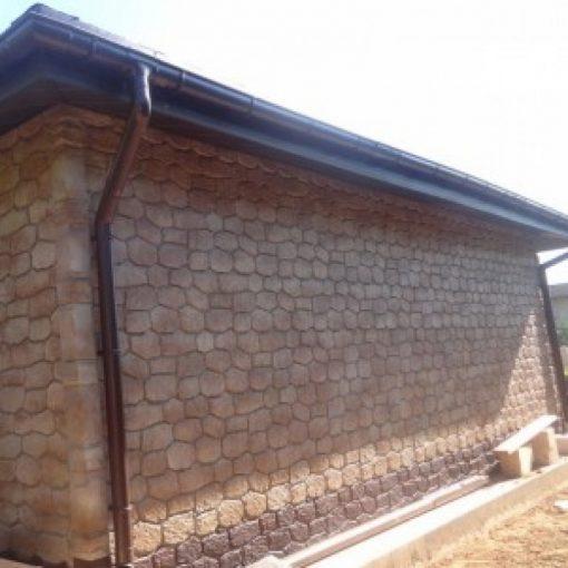 Фасадные панели Альта-Профиль Бутовый камень Скифский