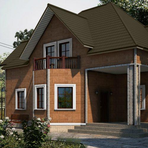 Фасадные панели Альта-Профиль Гранит Карпатский