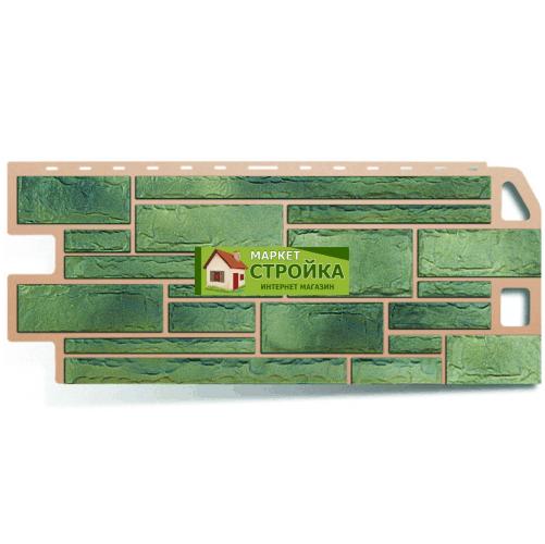 Фасадные панели Альта-Профиль Камень - Малахит