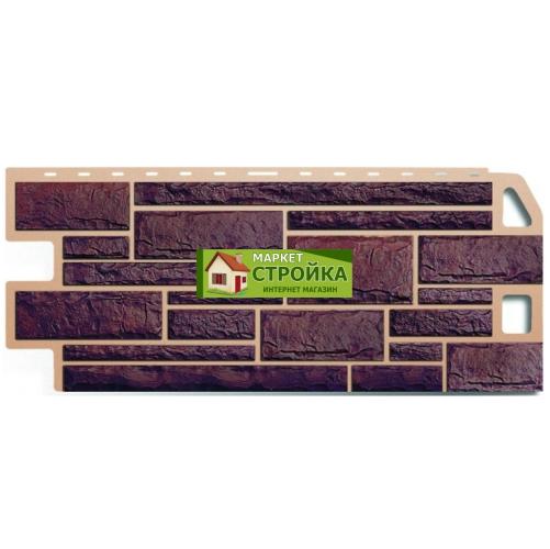 Фасадные панели Альта-Профиль Камень - Жжёный