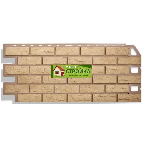 Фасадные панели Альта-Профиль Кирпич - Жёлтый