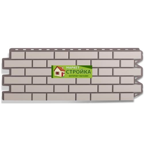 Фасадные панели Альта-Профиль Кирпич клинкерный - Белый