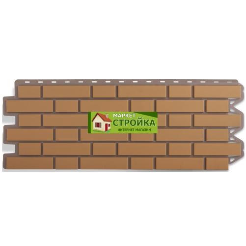 Фасадные панели Альта-Профиль Кирпич клинкерный - Бежевый