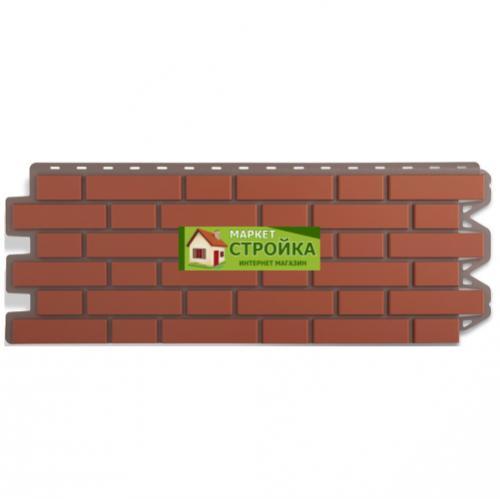 Фасадные панели Альта-Профиль Кирпич клинкерный - Красный