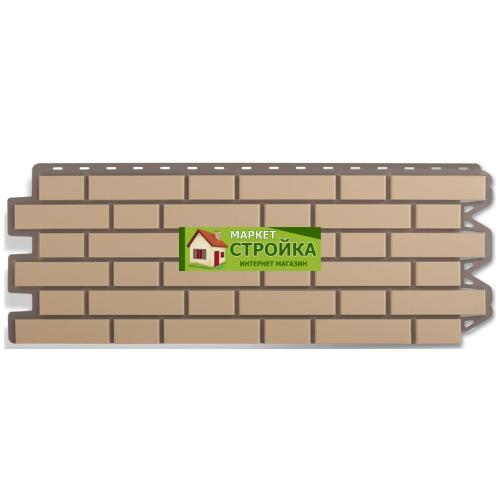 Фасадные панели Альта-Профиль Кирпич клинкерный - Жёлтый
