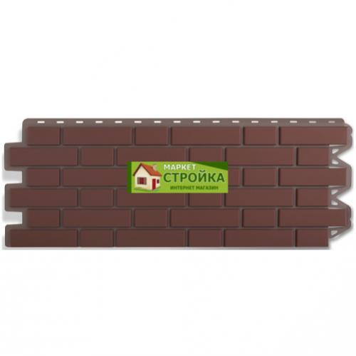 Фасадные панели Альта-Профиль Кирпич клинкерный - Жжёный