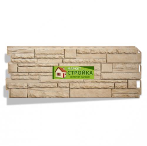 Фасадные панели Альта-Профиль Скалистый камень - Анды