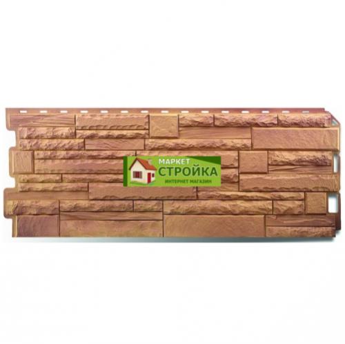 Фасадные панели Альта-Профиль Скалистый камень - Памир