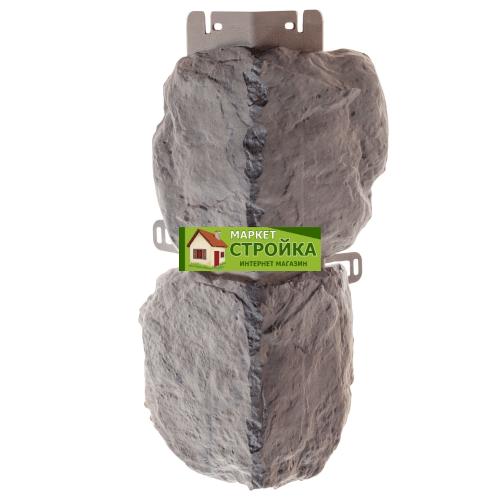 Наружный угол Альта-Профиль Бутовый камень - Скандинавский