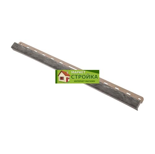 Облицовочная планка Альта-Профиль Камень - Серый