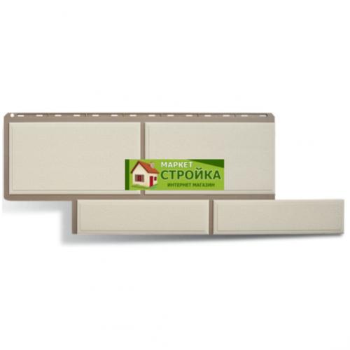 Фасадные панели Альта-Профиль Флорентийский камень - Белый