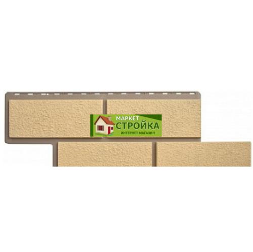 Фасадные панели Альта-Профиль Флорентийский камень - Песчаный