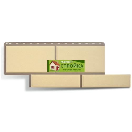 Фасадные панели Альта-Профиль Флорентийский камень - Слоновая кость