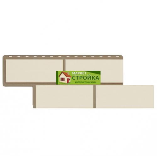 Фасадные панели Альта-Профиль Неаполитанский камень - Белый
