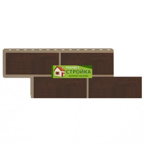 Фасадные панели Альта-Профиль Неаполитанский камень - Коричневый