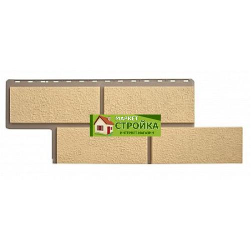Фасадные панели Альта-Профиль Неаполитанский камень - Песчаный