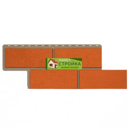 Фасадные панели Альта-Профиль Неаполитанский камень - Терракотовый
