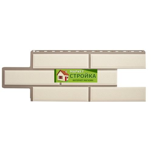 Фасадные панели Альта-Профиль Венецианский камень - Белый
